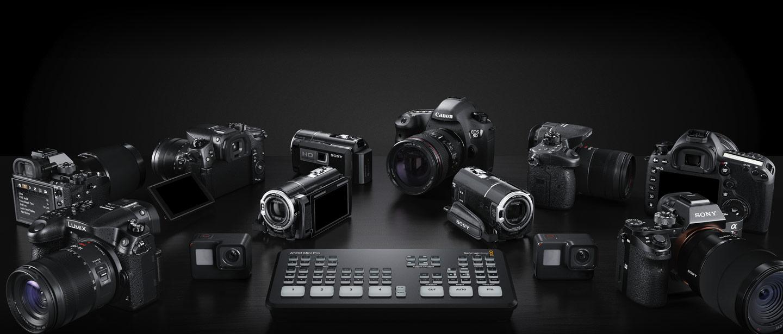4台までのカメラを接続可能