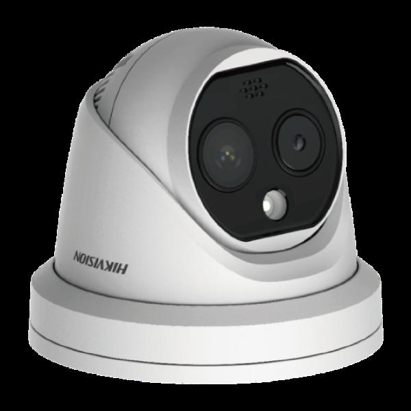 発熱測定AIドームカメラ