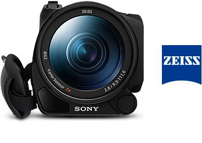 4K撮影にチューニングされた大口径ZEISS バリオゾナーT*(ティースター)レンズ
